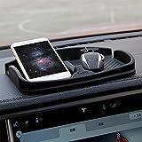 Topfit Antideslizante Almohadilla para teléfono celular Tablero de instrumentos Tablero de silicona Gel de escombros Soporte de montaje para iPhone X / 8/7 Más Dispositivos de GPS Samsung Gafas de sol