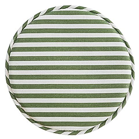 Fabric Chair Seat Student Thickened Round Pad Bar Stool Mat (color11)