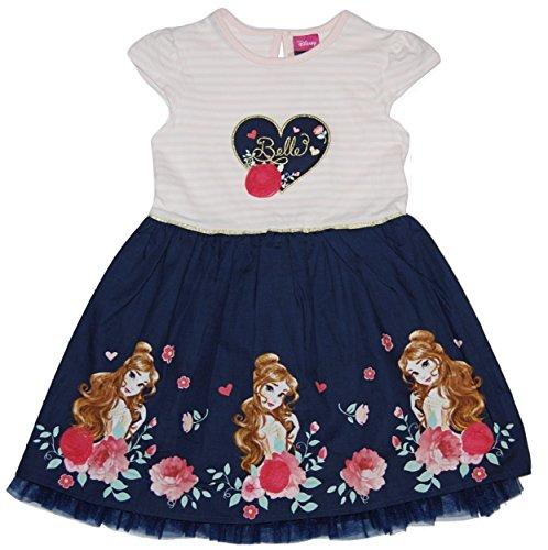 Disney Beauty & The Beast Princess Belle Girls Dress 18 Months - 8 Years