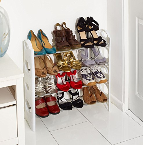 vinsani-4-tier-free-standing-shoe-rack-stand-storage-organiser-shelf-home-furniture-white