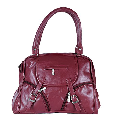 HOME ELITE DESIGNER LADIES HAND BAG , Red- RG-HB-04