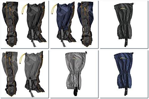 SPOKEY® SCOUT/INFANTRY Gamaschen (Stulpen Gamaschen Fußmanschette Abdeckung Nordic Walking Trekking Wandern Garten Outdoor) Light gray
