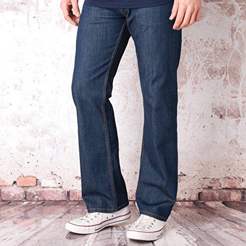 mens-levis-mens-506-straight-leg-blue-rinse-jeans-in-denim-38s