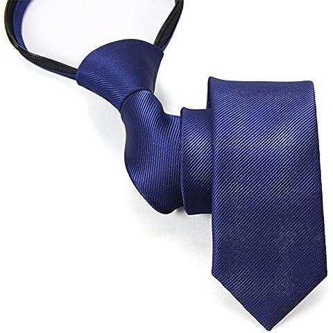 Business abbigliamento per uomini e donne la cravatta cerniera