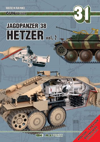 Jagdpanzer 38 Hetzer Vol. 2 (Gun Power) por Marcin Rainko