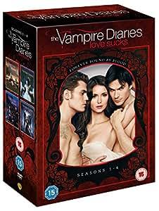 The Vampire Diaries - Season 1-4 [DVD] [2013]