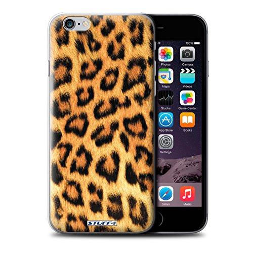 Stuff4 Hülle / Hülle für iPhone 6+/Plus 5.5 / Gelb Muster / Leopard Tier Haut/Print Kollektion (Leopard 6)
