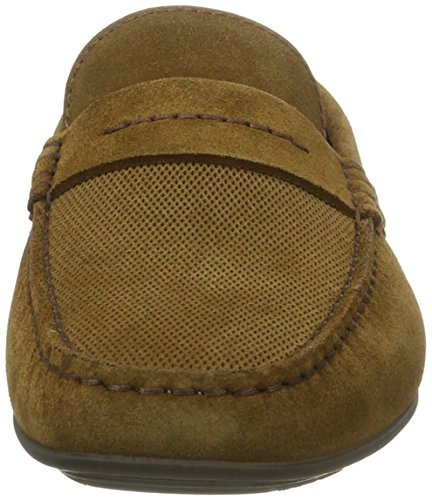 Hugo Dandy_mocc_sdpr 10197277 01, Mocassins Homme Marron (Medium Brown)