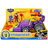 Fisher Price DC Imaginext The Joker & Harley Quinn Battle Vehicle by Imaginext