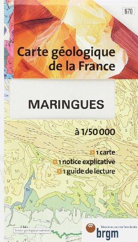 Carte géologique : Maringues