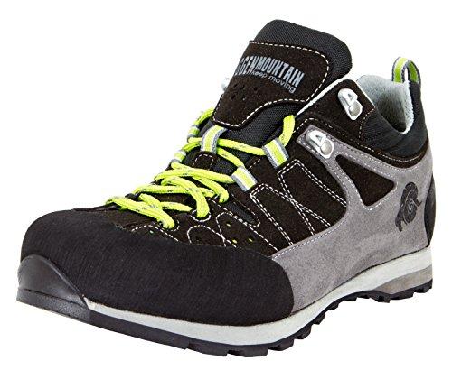 GUGGEN Mountain Herren Trekkingschuhe Wanderschuhe Wanderhalbschuhe Wasserdicht Outdoor-Schuhe Walkingschuhe HPT52 Farbe Schwarz EU 43