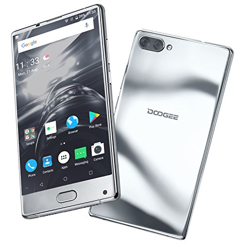 "Moviles Libres Baratos, DOOGEE MIX Smartphone Libre, 4G Android 7.0 Telefonos - MediaTek Helio P25 2.5GHz - 5.5""..."
