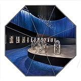 Kundenspezifischer faltbarer Umbrella Diy personifizierter Wissenschaft und Technik Entwurfs-beweglicher Reise-Regenschirm f¨¹r Sonne und Regen