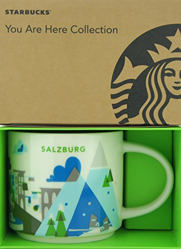 Starbucks City Mug You Are Here Collection Wien Salzburg Kaffeetasse Coffee Cup