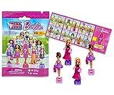 Mega Bloks Barbie Figuren 12 Tüten (Blindbags)