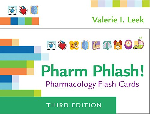 Pharm Phlash: Pharmacology Flash Cards 3e (Pharmakologie-flash-karten)