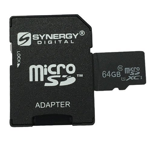 Synergy Digital 64GB MicroSDXC Pro Memory Card