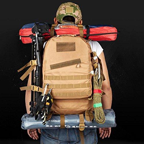 Rucksack Militär Camouflage 3D Reisecamping Wandern Outdoor Rucksack jungle digital