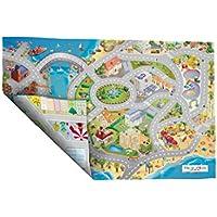 Achoka–94074–Alfombra de Juegos Reversible–Routes Borde de mar