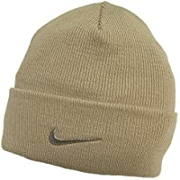 Adulto Nike Fino Doble Tejido Cálido Beige Gorro 564453-168