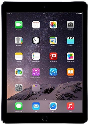 Apple iPad Air2 Tablet 16GB, Wi-Fi SG, Nero (Ricondizionato Certificato)