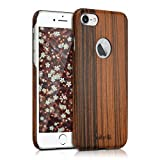kalibri Apple iPhone 7/8 Hülle - Handy Holz Schutzhülle - Slim Cover Case Handyhülle für Apple iPhone 7/8