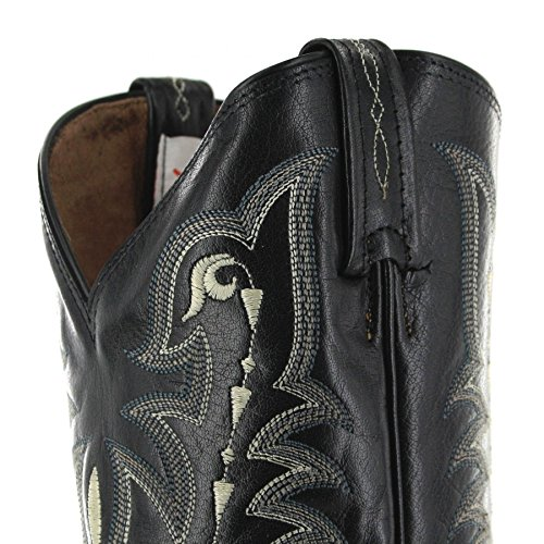 FB Fashion Boots Tony Lama CZ810 EE Black/Herren Exoticstiefel Schwarz/Herrenstiefel/Reitstiefel/Western Riding Boots Black (Weite EE)