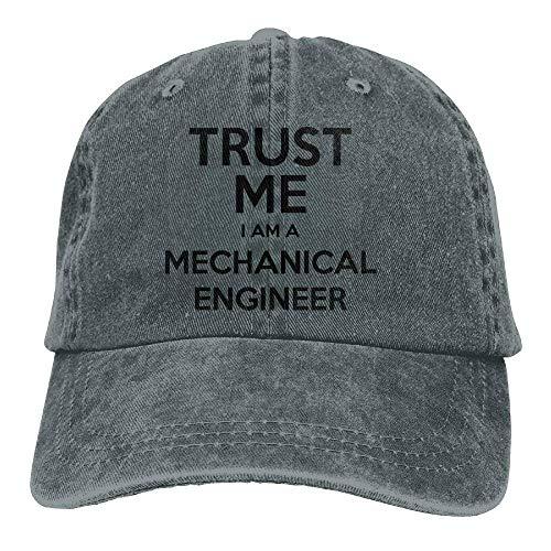anical Engineer Cowboy Hip-Hop Hat Rear Cap Adjustable Cap ()