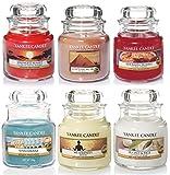 Yankee Candle classique Sélection Boîte cadeau Lot de 6Signature Mini Petits Pots