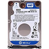 WD Blue Disque dur interne (Bulk) Laptop Mainstream 500 Go 2,5 pouces SATA 5400 RPM 7mm
