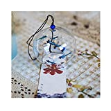 Vent Bell japonais Carillon éolien en verre fait main vent chimes-bluefish