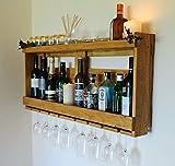 Palette de vin Whisky Gin Restauré en bois