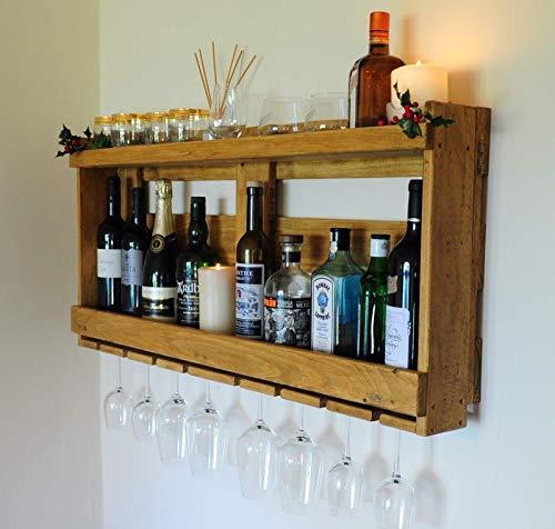 Weinregal aus Pallettholz -