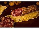 3 x 400 gr - Salsiccia di capra sarda prodotta in Sardegna dalla Cooperativa 27 Febbraio. Attenta selezione delle carni, lavorazione integralmente artigianale. Ideale per completare un tagliere di for