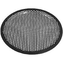 SODIAL(R)Universal 8 pulgadas Rejilla guardia cubierta de galleta del metal negro de altavoz subwoofer
