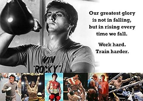 Poster Rocky Balboa # 55–Motivation–Boxe–pour vous un succès
