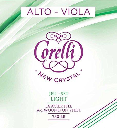 Corelli Viola NEW CRYSTAL 730LB (con cuerda-A 731LB Steel core) light
