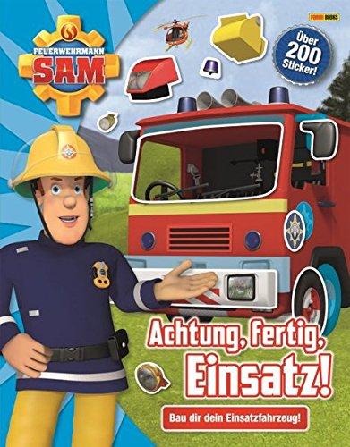 feuerwehrmann sam sticker Feuerwehrmann Sam: Achtung, fertig, Einsatz!: Bau dir dein Einsatzfahrzeug!
