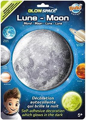 Buki France - Luna, planeta fosforescente, juguete educativo (3DF3)