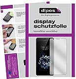 dipos I 2X Schutzfolie klar passend für TP-Link Neffos N1 Folie Bildschirmschutzfolie
