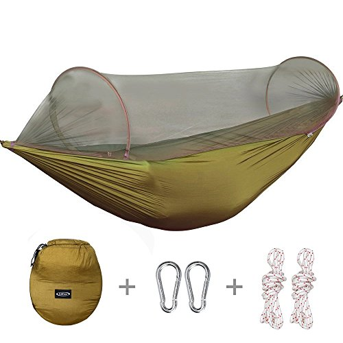 g4free portable foldable camping hammock mosquito net tent tree hanging bed for outdoor camping hiking backpacking travel and indoor backyard