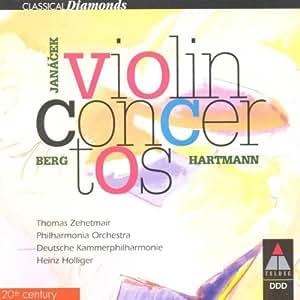Violinkonzerte von Berg, Janacek und Hartmann