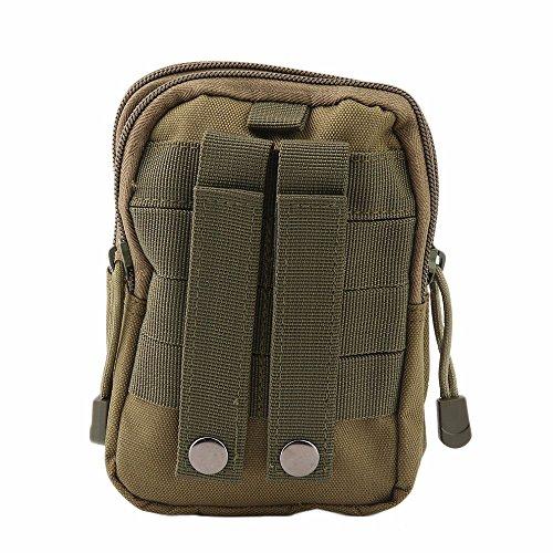 eee5c67684e5b YUDODO Herren Gürteltasche Molle Pouch Taktische Hüfttaschen Sport Outdoor  Survival Tasche Armeegrün ...