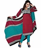 Sonal Trendz Maroon Color Cotton printed...
