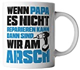 vanVerden Tasse Papa Reparieren Arsch Vatertag Dad Geschenk - Best Reviews Guide