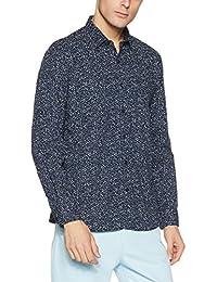 Van Heusen Men's Solid Slim Fit Cotton Casual Shirt