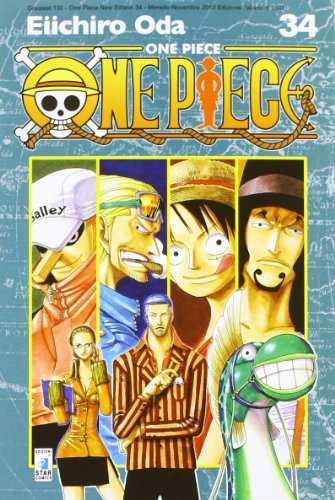 One piece. new edition: 34