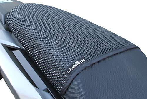 Triboseat Coprisella Passeggero Antiscivolo Nero Compatibile Con Honda CB500X (2013-2018)