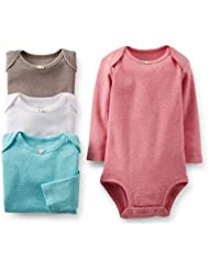 Carter's 4 Pack Bodysuits (Baby) - Assorted-3 Months Color: Assorted-ST Size: 3 Months (Baby/Babe/Infant - Little ones)