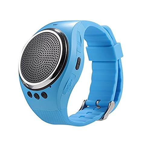 IRONLINK RS09 Bluetooth Sound Watch Bracelet Pedometer Music Player Memory